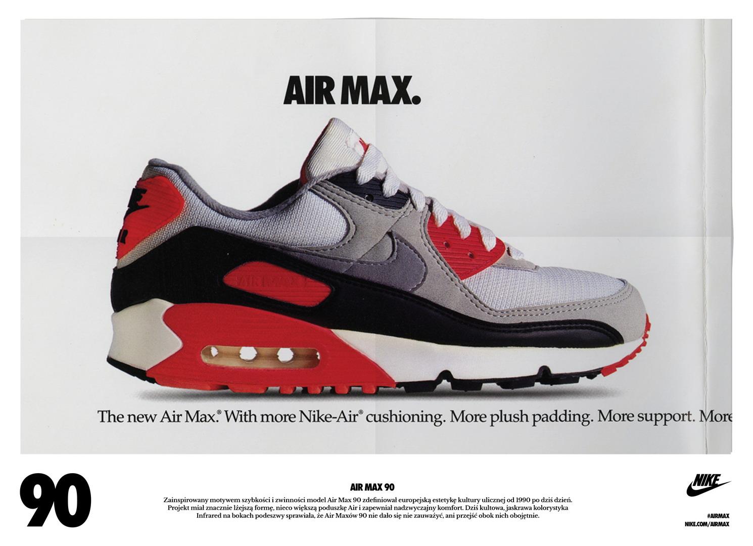 sale retailer 98e8a 1636b SP14 NSW AIRMAXDAY HISTORY AM90 resize. 25 lat temu na sklepowych półkach  zadebiutowały Air Max 90 ...